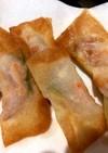 大量生産★海老ツナチーズの揚げワンタン