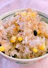 炊飯器で簡単!とうもろこしの雑穀ご飯