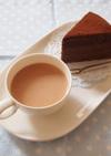 ◆残ったクリームでホットチョコレート◆