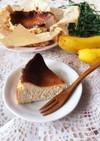バスク風チーズケーキ♡バナナバスチー