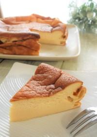 ヨーグルト&米粉 半熟スフレチーズケーキ