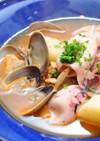 するめイカのトマトスープ