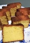バター不使用レモン風味ケーキ