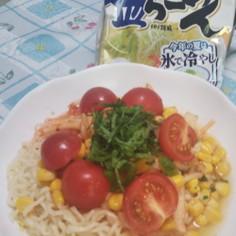 サッパリ1番塩レーメン(キムチ風味)