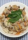 ヒルナンデス乾燥生姜と鯖缶の炊き込みご飯