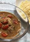 鯖とトマトの冷やしつけ麺