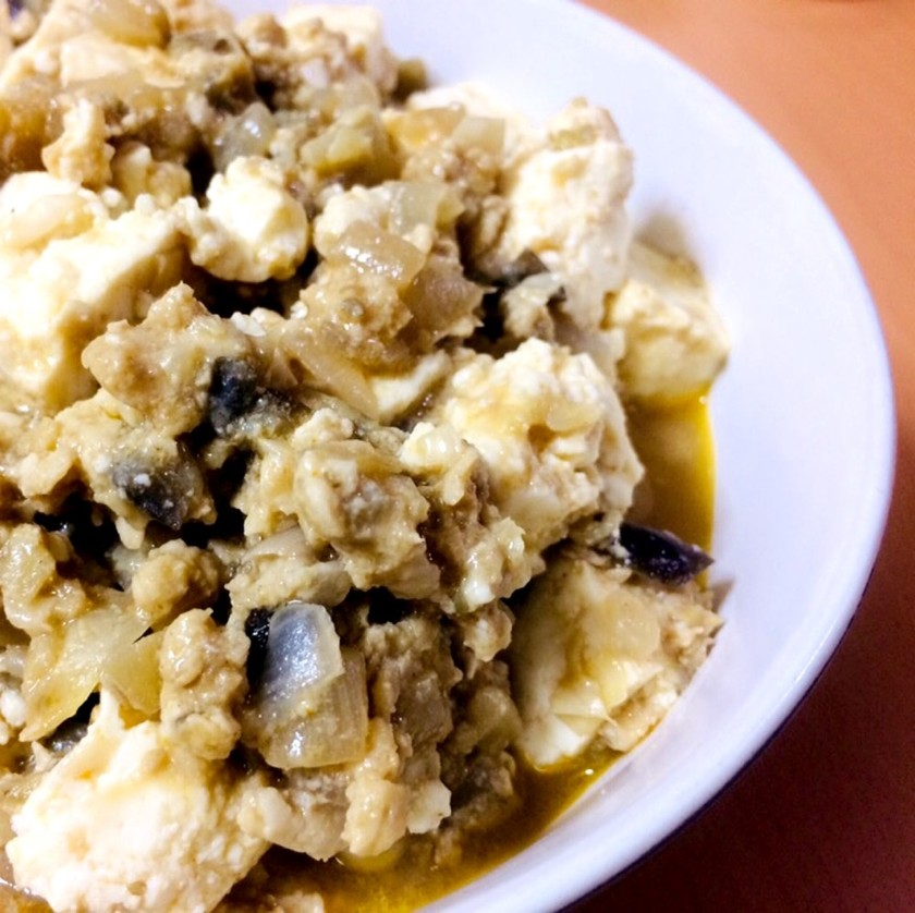 麻婆豆腐&麻婆茄子
