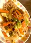 食感良き野菜炒め