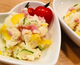 生ハムのポテトサラダ