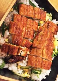 鰻で夏バテ防止!カサ増し☆鰻チラシ