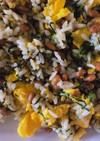 栄養満点!納豆小松菜卵チャーハン