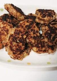 «離乳食後期»高野豆腐入りハンバーグ