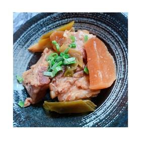 炊飯器で簡単放置!!豚バラ軟骨の角煮