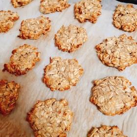 ダイエットに♪オートミールバナナクッキー
