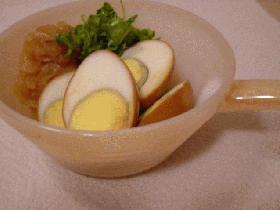 にんにく醤油卵