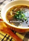 もずく☆豆腐☆えのきの中華スープ♪♪