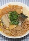 梅ズバ☆簡単☆干しえのきでサバ缶チゲ豆腐