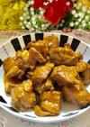 豚ロース肉の簡単*サイコロトンテキ〜