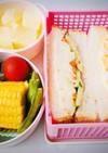 ポテサラ&玉子サンド弁当