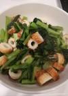 簡単おかず!小松菜と竹輪の中華風炒め
