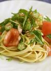 夏野菜と一緒に!冷製パスタ