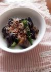 お惣菜風♪オクラとナスの簡単煮物