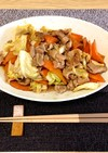 豚肉と野菜の味噌炒め