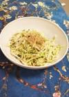 キャベツと大根と胡瓜の胡麻風味サラダ