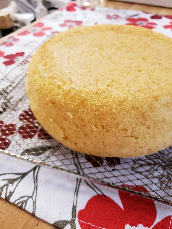 卵なし 炊飯器 スポンジケーキ 誕生日
