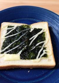 韓国海苔トースト