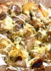 鶏肉とキャベツのオーブン焼き