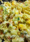 簡単美味・粉ふき芋からのポテトサラダ