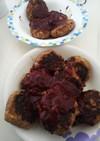 レンチン玉ねぎのハンバーグ