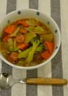 冬野菜コンソメスープ@高梁川流域学校給食