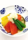 【病院】夏野菜の揚げびたし【給食】