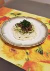 肉そぼろで食べる!アジアン風素麺
