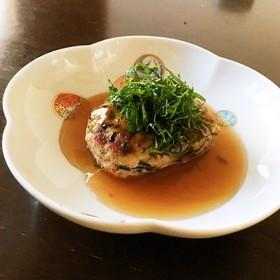 ヘルシー✨ひじき入り 和風豆腐ハンバーグ