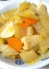 白菜と竹輪のさっと煮