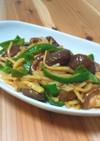 色々野菜の中華風ソース炒め