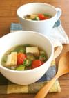具沢山☆夏野菜と厚揚げのお味噌汁