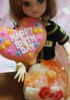 リカちゃんサイズ♡ケーキ寿司ꕤ*.゚