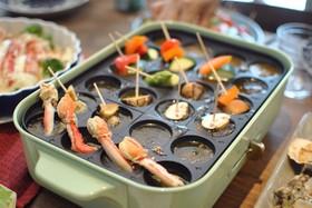 夏野菜で簡単アヒージョ