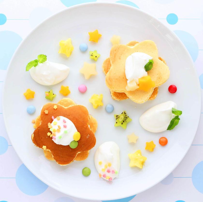 七夕★キラキラ星のパンケーキ