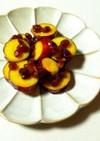 【薩摩芋のオレンジジュース煮♪】