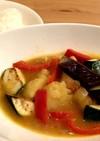 野菜たっぷり☆チキンのスープカレー