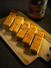 簡単!半熟チーズスフレケーキ☆コーヒー味の写真