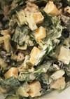 タヒニを使ってチョップトサラダ