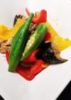 豚肉と夏野菜のカレー風味炒め