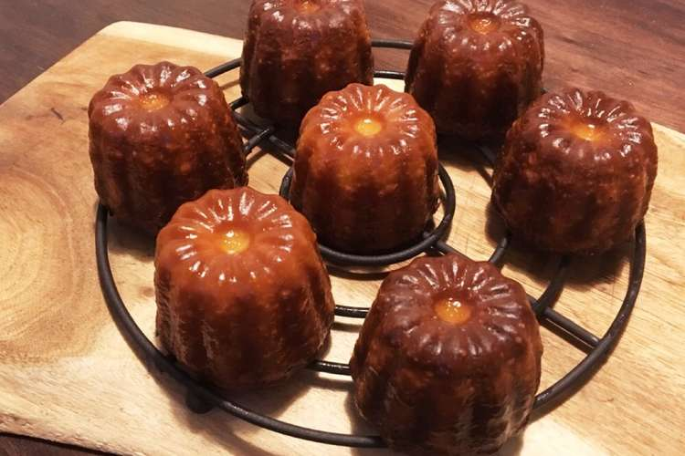作り方 カヌレ フランスの伝統菓子 カヌレの作り方