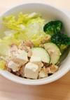 鯵と豆腐の味噌マヨサラダ